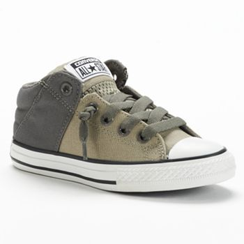 9bb73e112275 Converse Chuck Taylor All Star Axel Mid-Top Slip-On Sneakers for Boys  kohls