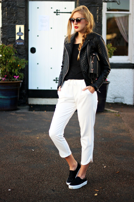 fcc9fe89d0 2014 Slipons  Primark   Bag  Zara Top  Bershka   Jacket  Sheinside  Trousers   Zara