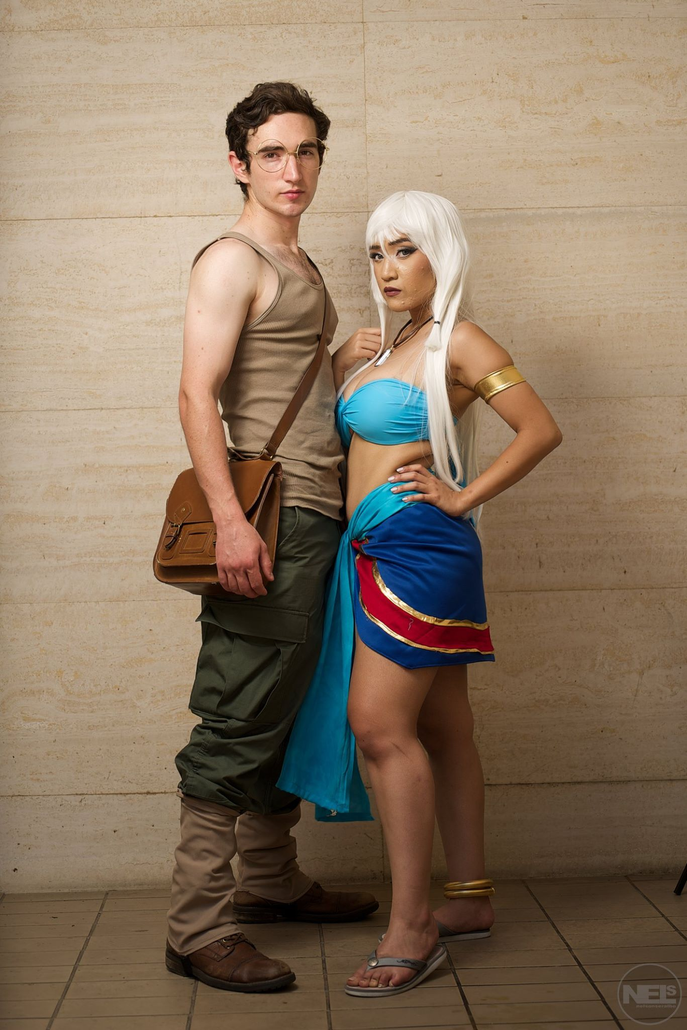 Milo James Thatch & Princess 'Kida' Kidagakash (Atlantis ...