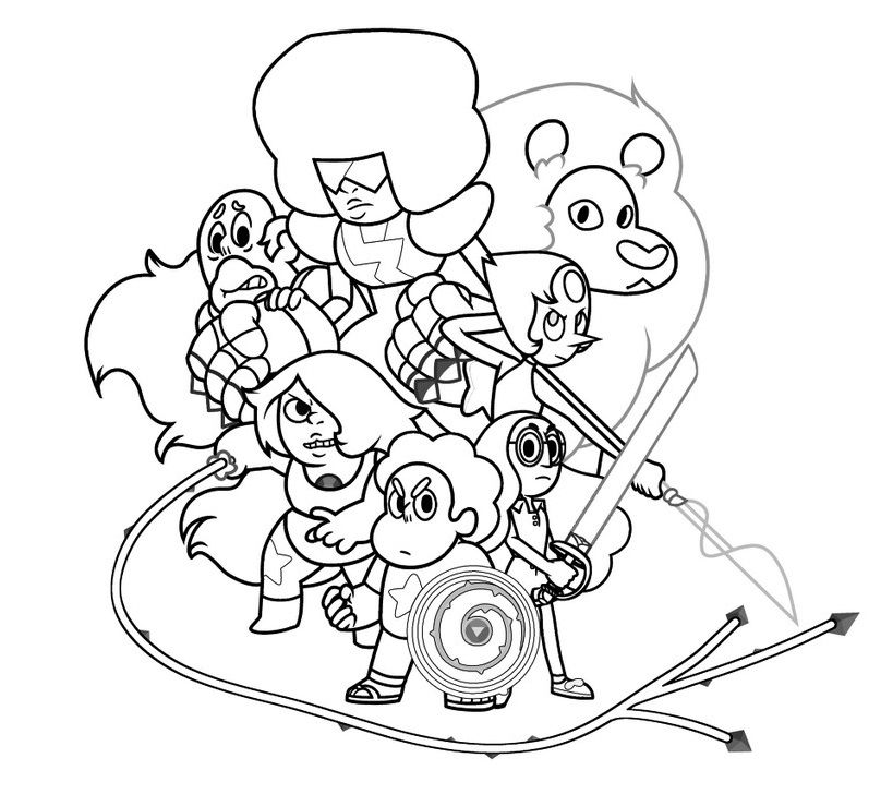 43++ Cartoon network coloring pages steven universe info