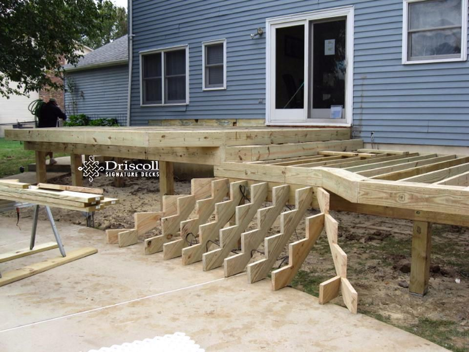 Best Flared Stair Designs Yahoo Search Results Deck Stairs 400 x 300