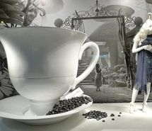 Inspiring picture alice, alice in wonderland, alice nel paese delle meraviglie, animals, art, black and white. Resolution: 500x333 px. Find the picture to your taste!