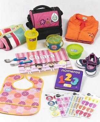 Con el Pack Nido podrás personalizar las cosas de tus hijos para evitar que se confundan o pierdan.