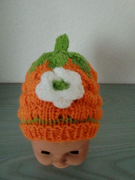 Babymütze Mütze  ca. 1 Jahr von Auenblume auf DaWanda.com