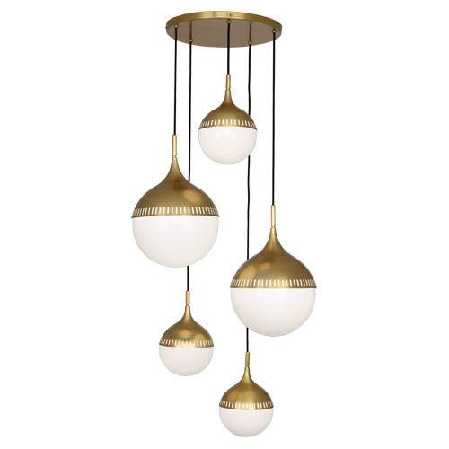 Jonathan Adler Rio MultiGlobe Chandelier design by Robert Abbey – Globe Chandelier Light