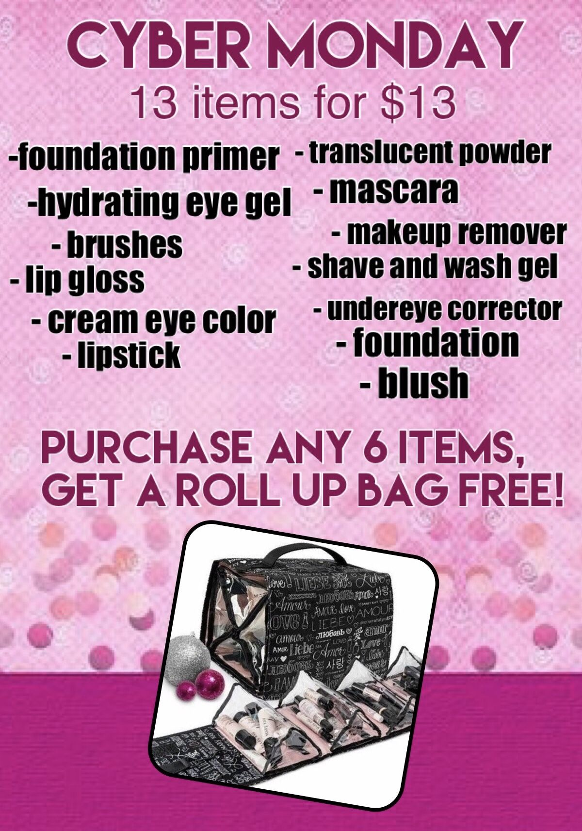 Mary Kay Cyber Monday Marykay Cybermonday 13itemsfor13dollars Mymklife Mkdeals Marykaymakeup Mary Kay Cyber Monday Mary Kay Mascara Mary Kay Pink Friday