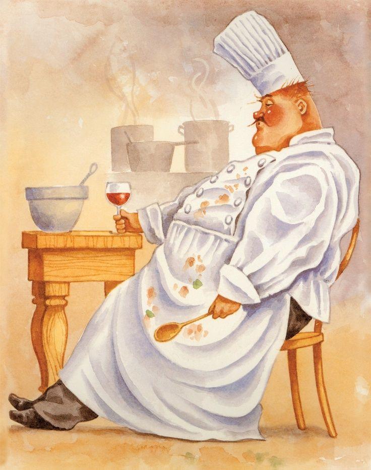 Французский повар картинки