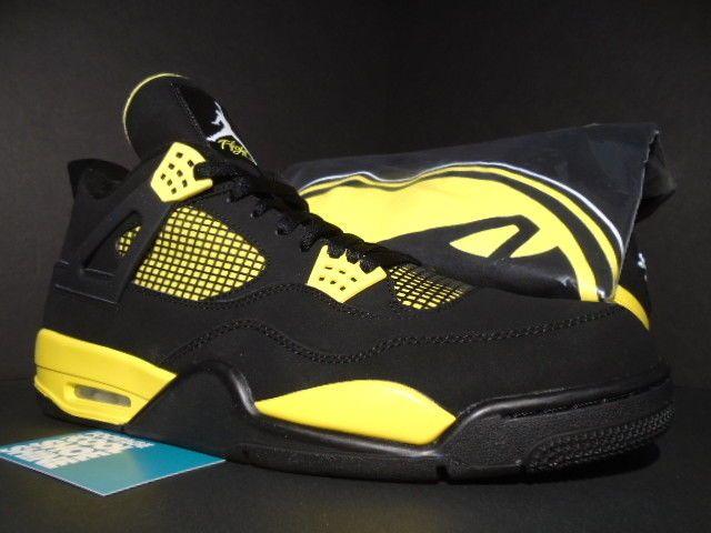 4142061c8b1d4c NIKE AIR JORDAN IV 4 RETRO OG THUNDER LIGHTNING BLACK YELLOW FRESHNESS  SHIRT 14  fashion  clothing  shoes  accessories  mensshoes  athleticshoes  (ebay link)