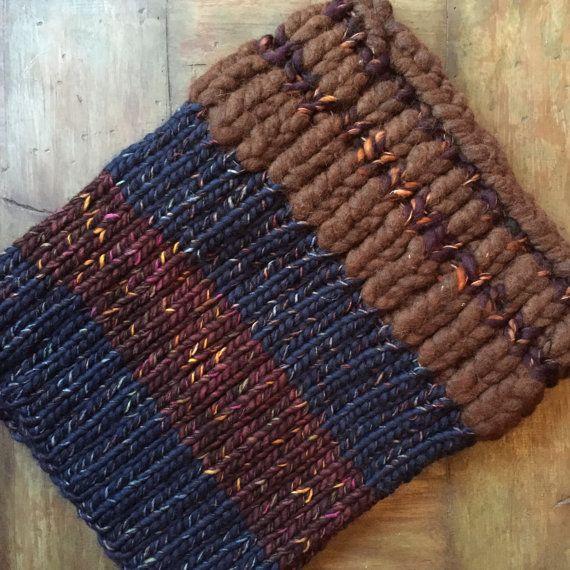 Bufanda de punto gruesa punto bufanda bufanda de punto