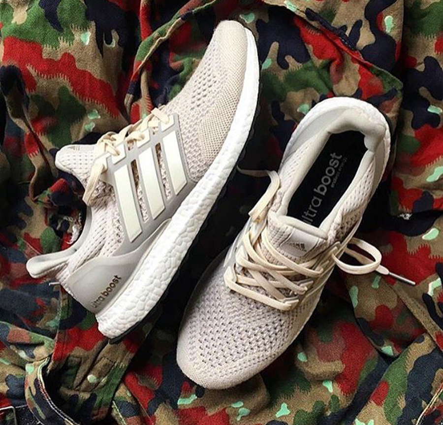 Adidas Ultra Boost Gray Off White