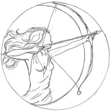 Symbol For The Goddess Artemis Google Search Tattoos In 2018