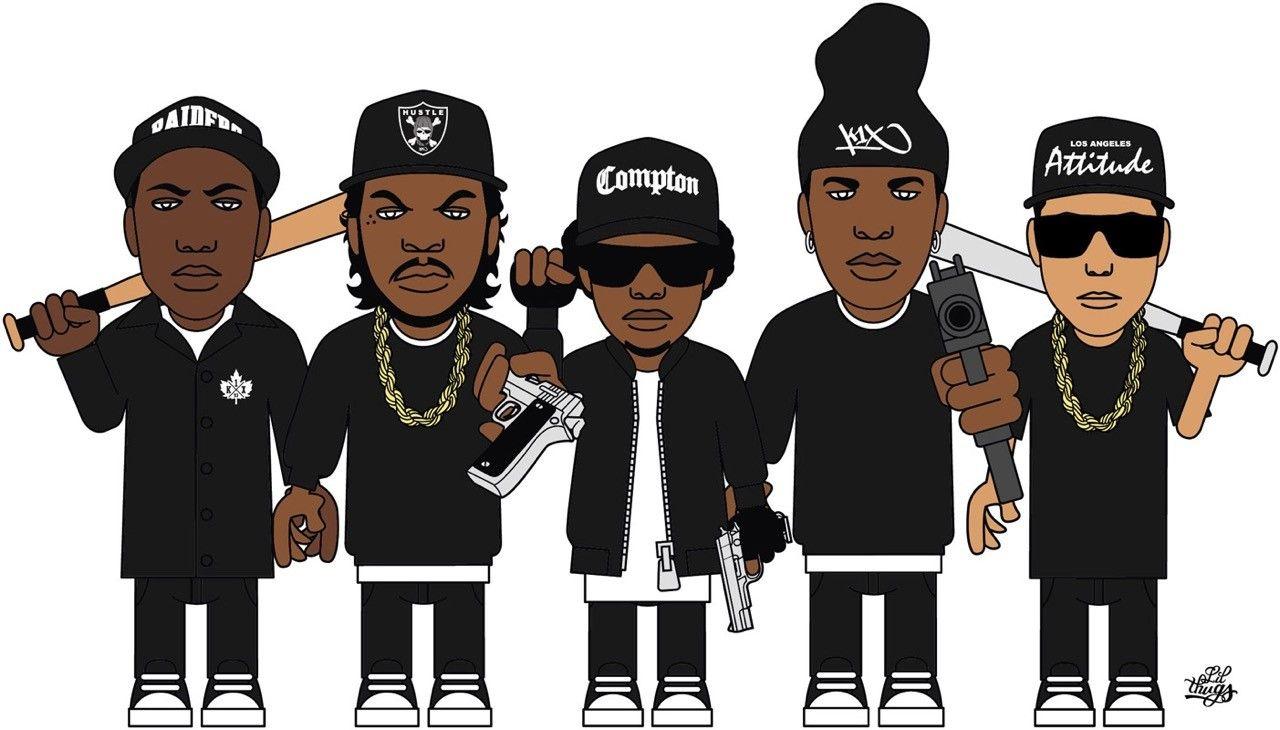 Eazy E Cartoon: Nwa And The Posse Related Keywords & Suggestions
