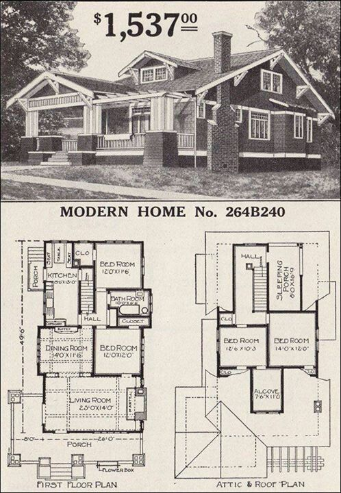 Old Farmhouse Plans Craftsman Style Homes Bungalow House Plans Craftsman House