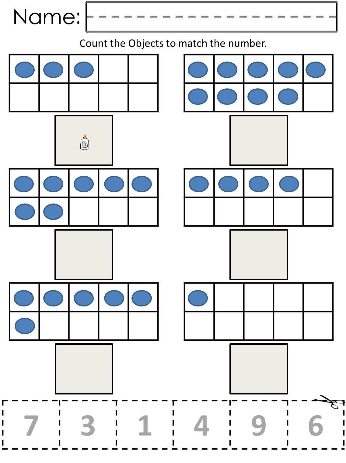 Worksheets For Autistic Kindergarteners Math Worksheets Autistic Students Printable Math Worksheets [ 1520 x 1137 Pixel ]