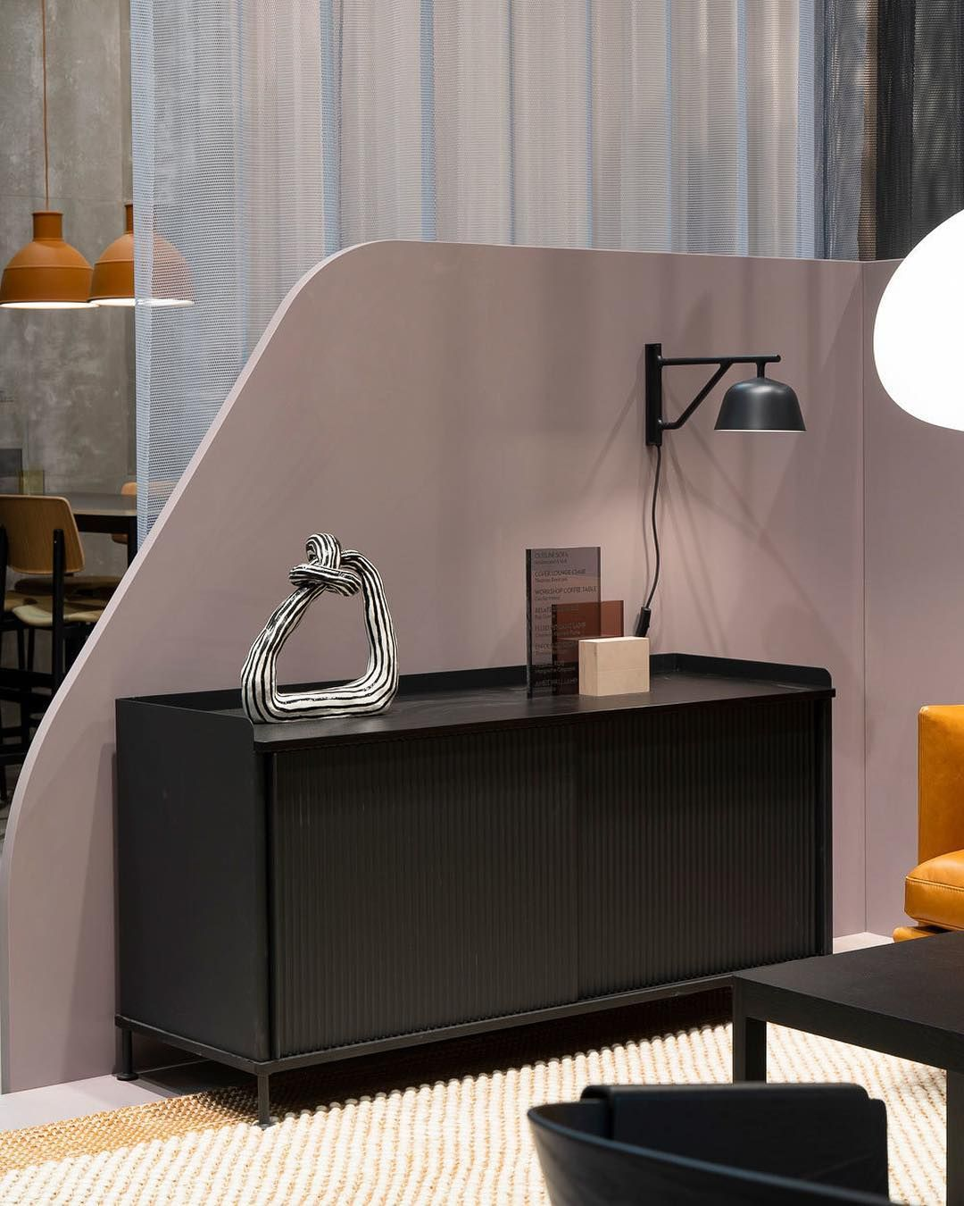 Easy on the eye—the Enfold Sideboard and Ambit Wall Lamp ...
