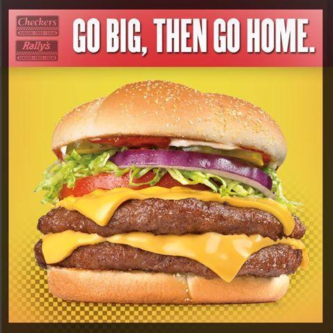 Big Buford!! #Checkers #Rallys #BigBuford #DriveThru