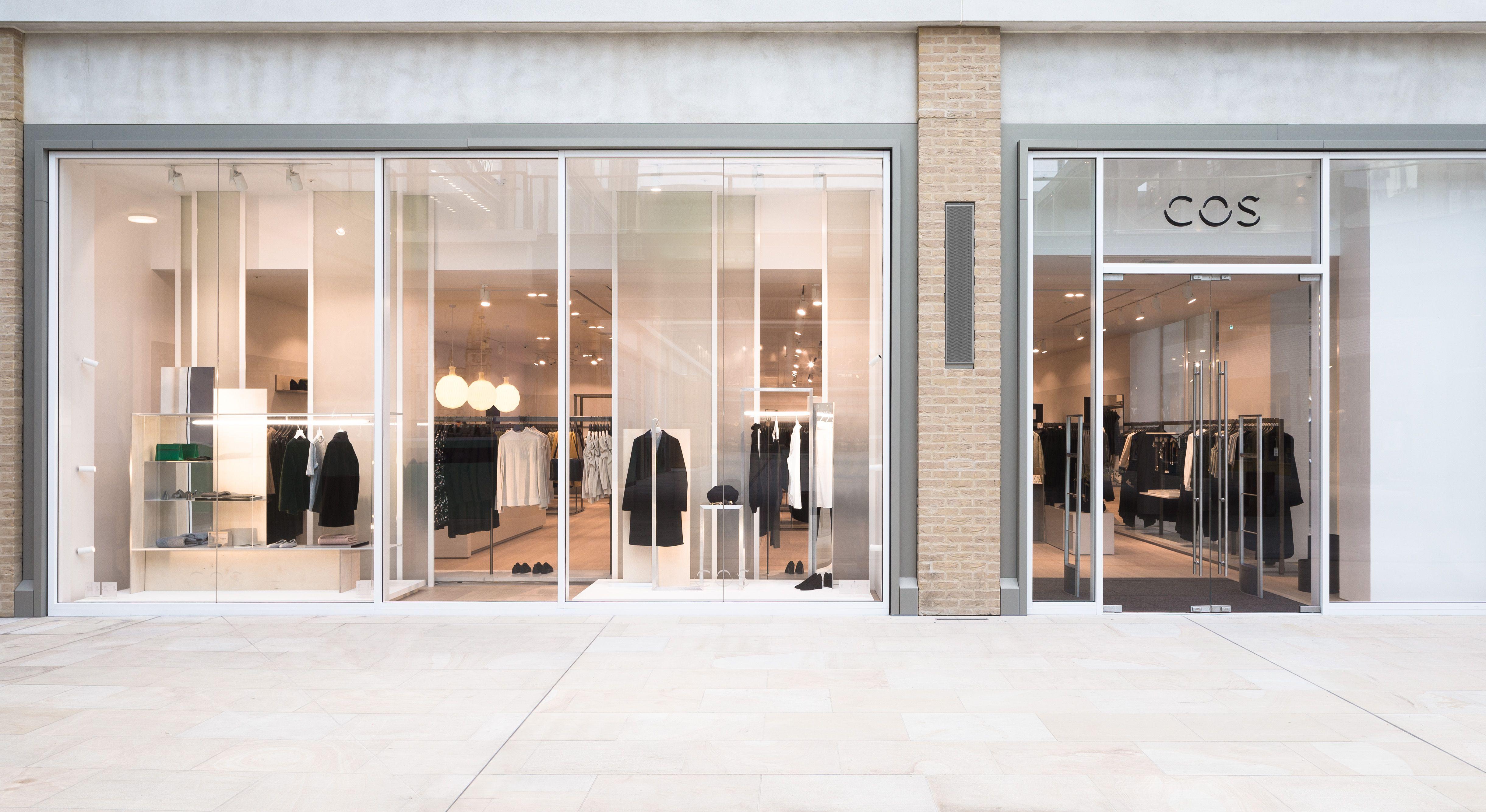 COS | Stores | Westgate, Oxford | Cos stores, Facade design, Architecture