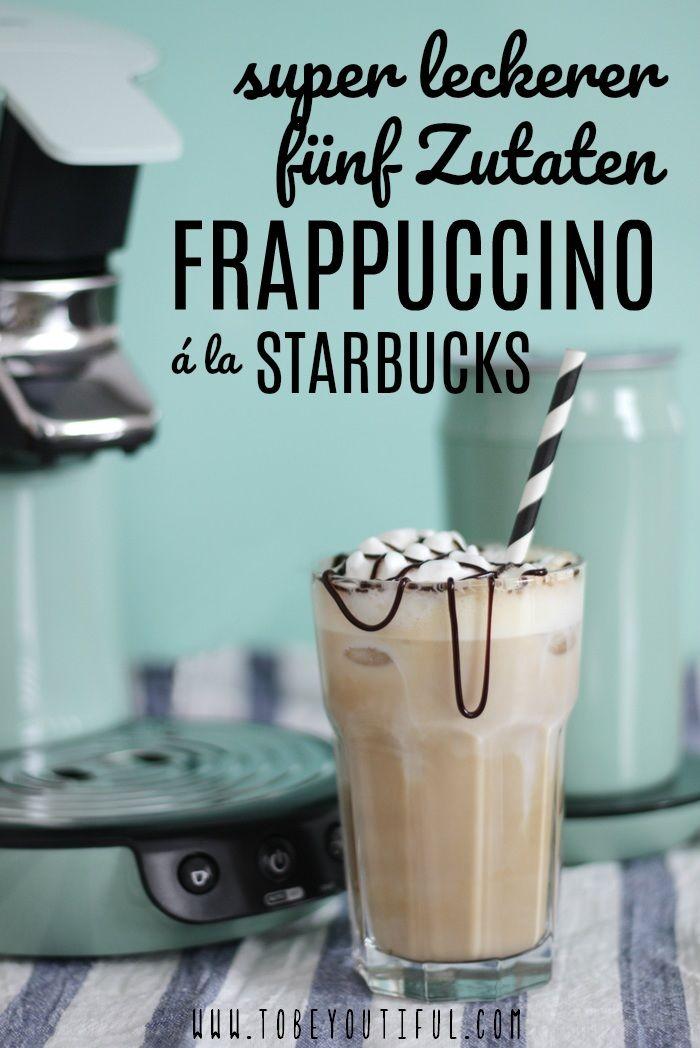 Frappuccino Starbucks Rezept // nur fünf Zutaten!!!