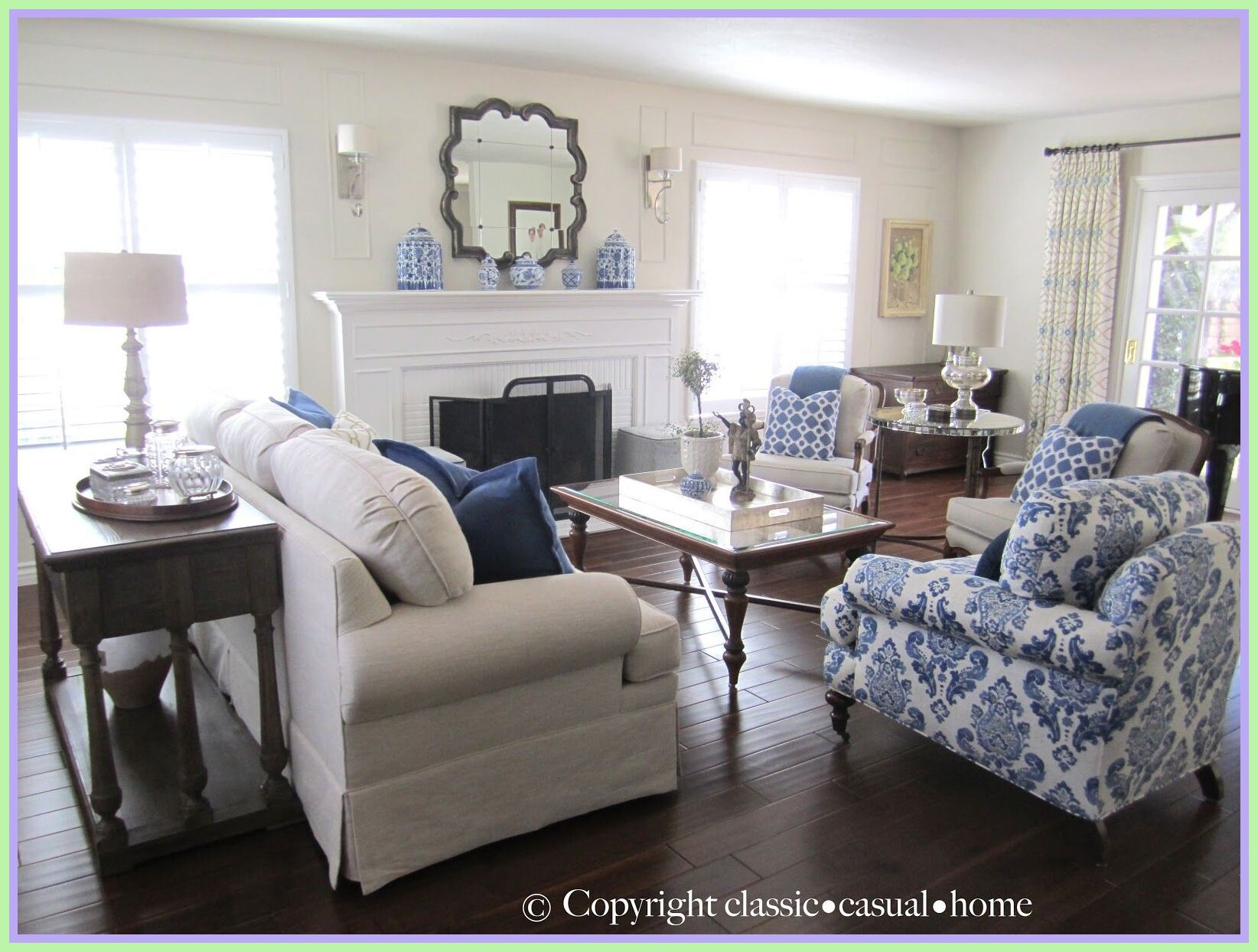 41 Reference Of White Couch Living Room Design In 2020 Living Room White Blue And White Living Room White Sofa Living Room #royal #blue #living #room #decorating #ideas