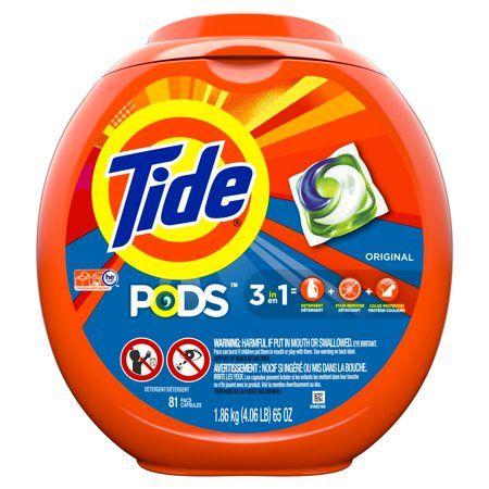 Household Essentials Liquid Laundry Detergent Tide Pods