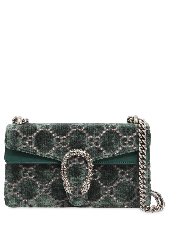 52450599f362 GUCCI SMALL DIONYSUS GG VELVET SHOULDER BAG. #gucci #bags #shoulder bags # velvet #lace #