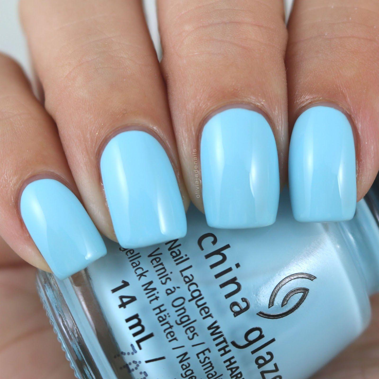 China Glaze Chalk Me Up! swatched by Olivia Jade Nails | Nails ...