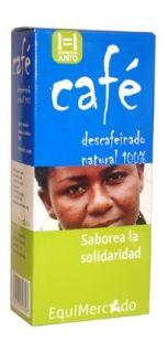 Café descafeinado. Molido. 250 gr. Tuesta natural Café descafeinado, 100% arábica, origen Colombia. Con gran cuerpo y sabor, ha sido descafeinado usando solo agua durante el proceso, sin disolventes quimicos.