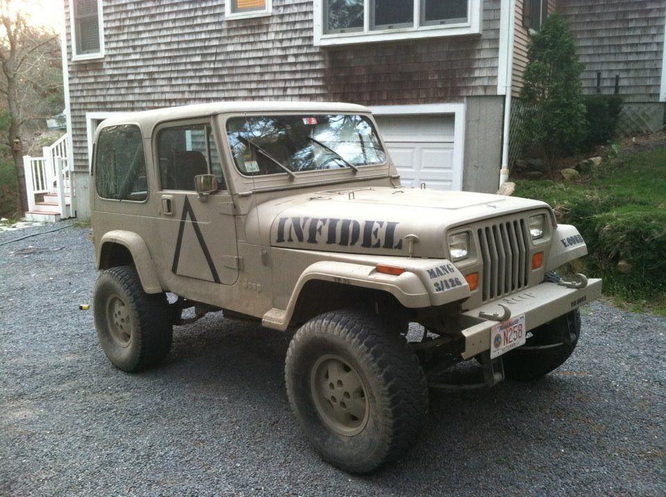 Jeep Wrangler Paint Job >> Military Paint Job 91 Yj Islander Transformed Into A 91 Yj