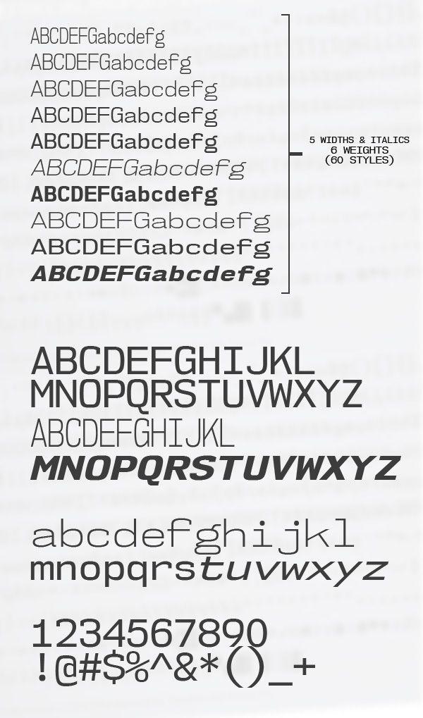 Nk Monospace Font Letters Freefonts Fontsfordesigners  Signs