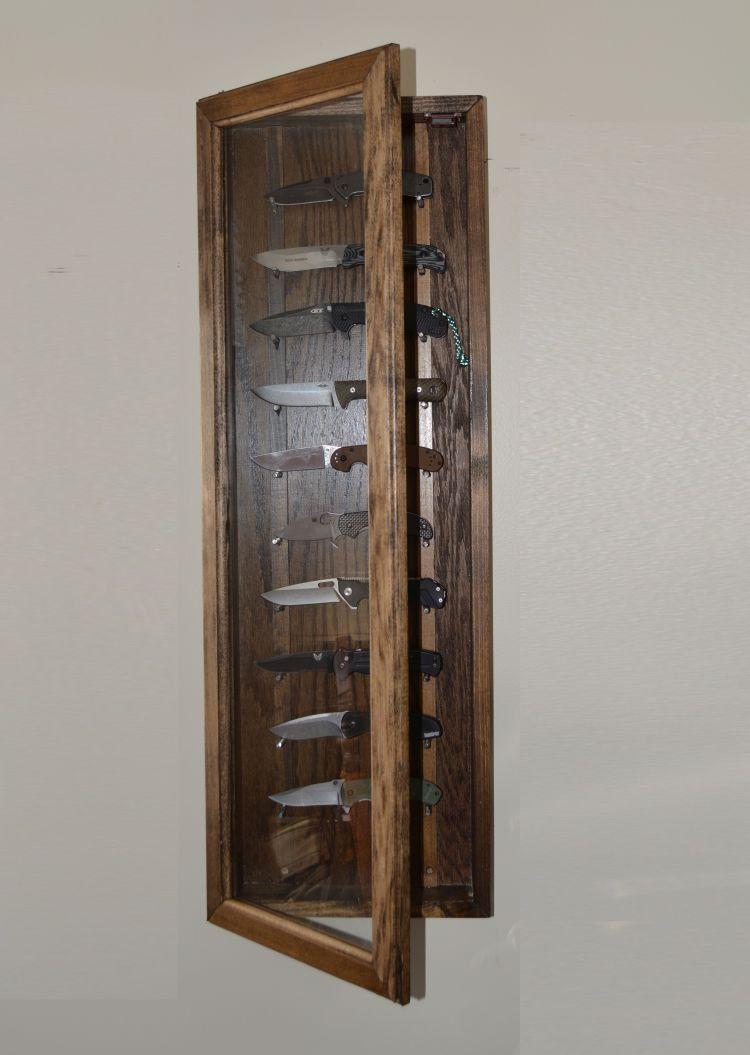 knife display case by reclaimerdesign on etsy