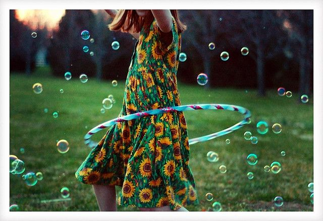 bubbles and hooping
