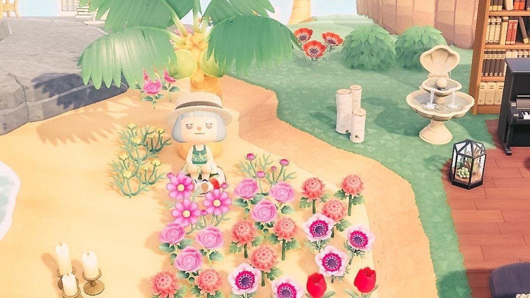 花 あつ 森 浜辺
