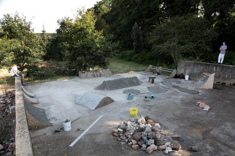 Image result for diy skate park