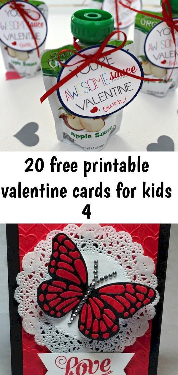 20 free printable valentine cards for kids 4  20 free printable valentine cards