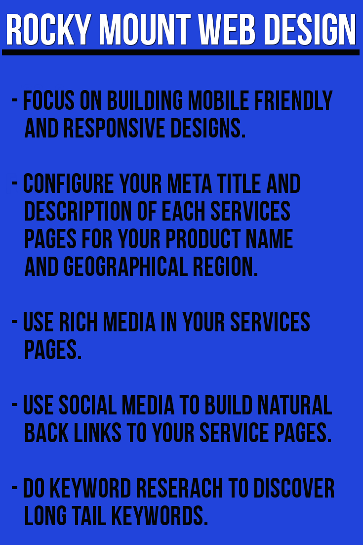 Rocky Mount Nc Marketing Agency Internet Digital Seo Business Seo Business Web Design Company Web Design Services