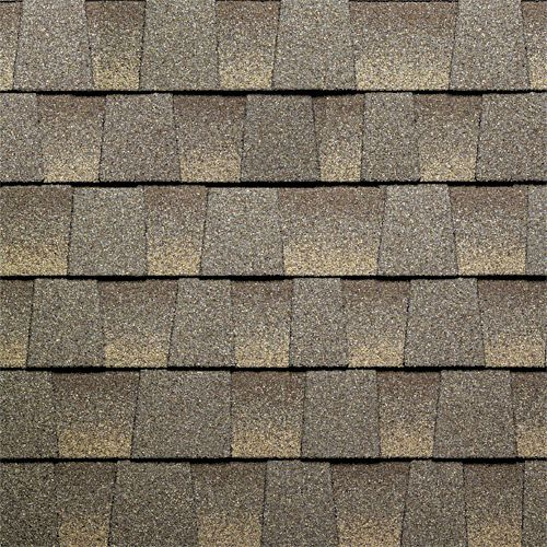 Cool barkwood gaf timberline roof shingles swatch for Roof shingles styles