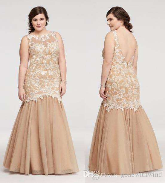 Blaclk Vintage Plus Size Prom Dresses