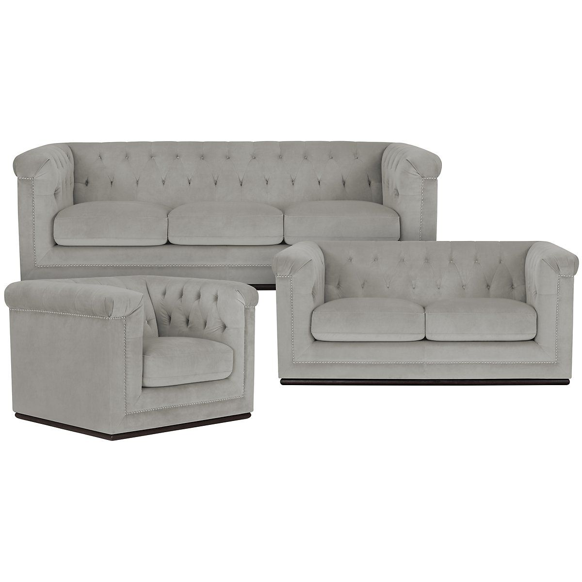 Image Result For Grey Microfiber Sofa