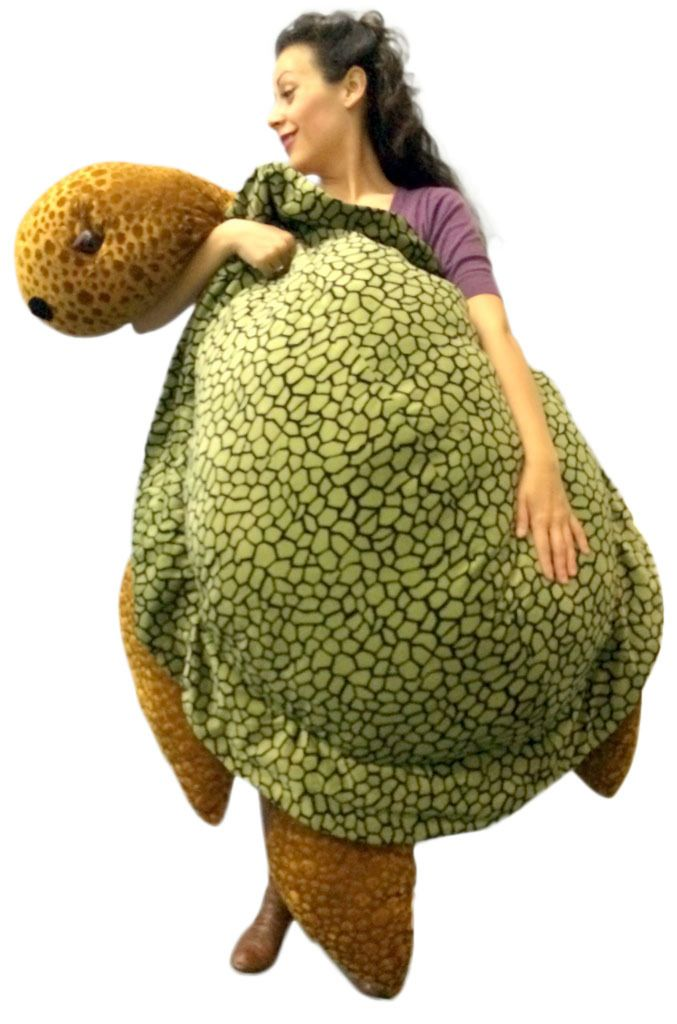 Giant Turtle Pillow Giant Stuffed Turtle 5 Feet Long Extremely