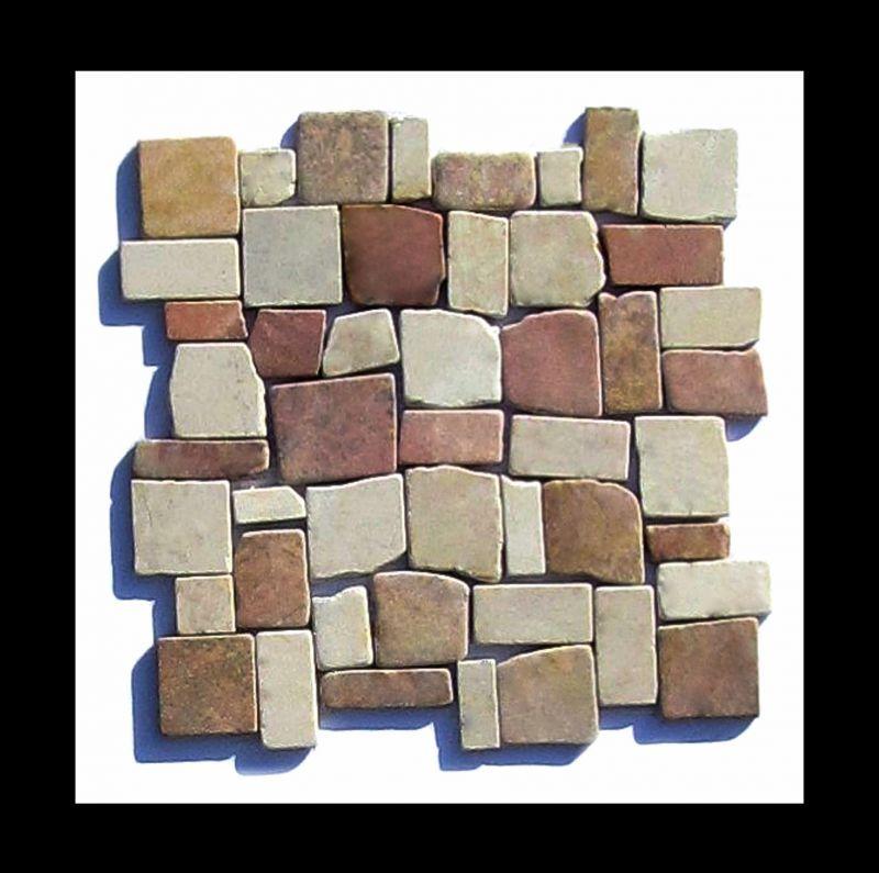 Marmor Bruchstein Mosaik Fliese - Bruchsteinmosaik eignet sich als ...
