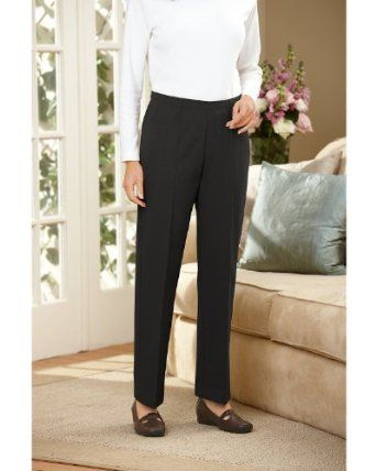 7219d82741f Cathy Daniels Crease Front Ponte Knit Pants