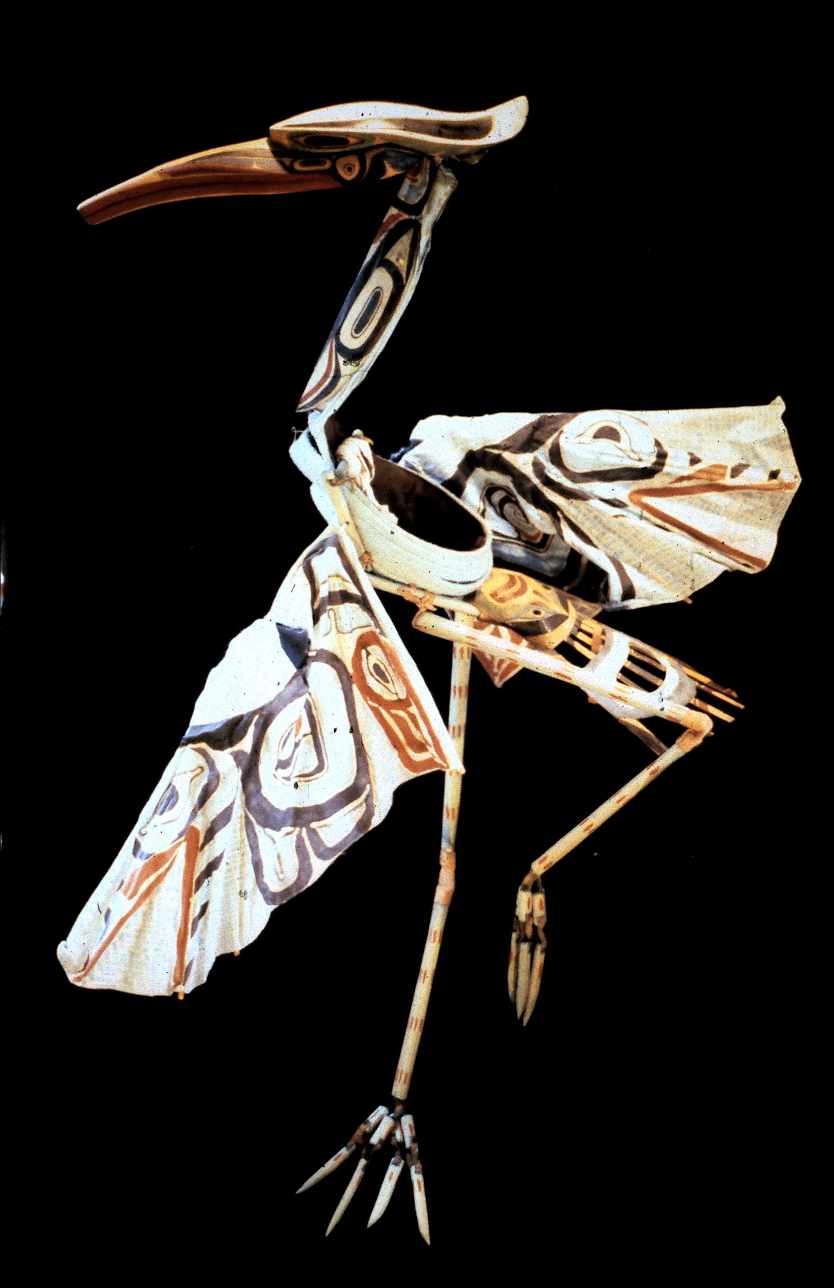 Heron Headress Puppet