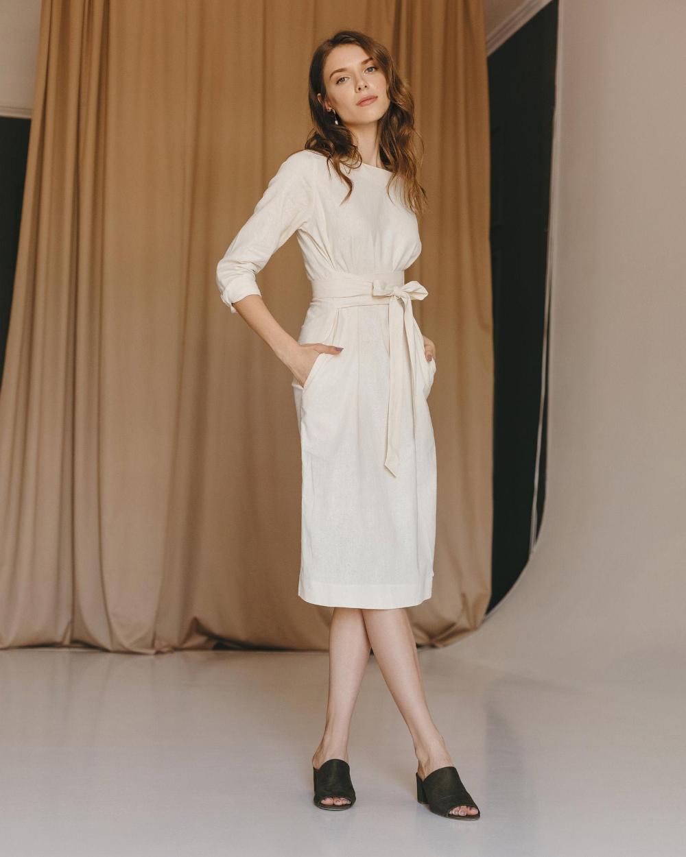 Linen dress. Bridesmaid dress. Linen tunic. Wrap linen dress. Linen dresses for women. Linen dress. Boho dress. Summer dress #linentunic