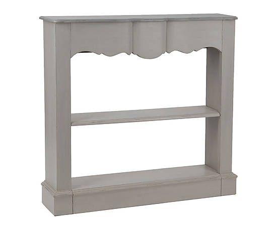 manteau de chemin e bois gris l110 prix 369 en. Black Bedroom Furniture Sets. Home Design Ideas