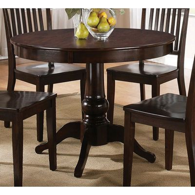 Ordinaire Candice 42 Inch Round Dining Table In Dark Espresso Is A Part Of Candice  Collection By Steve Silver