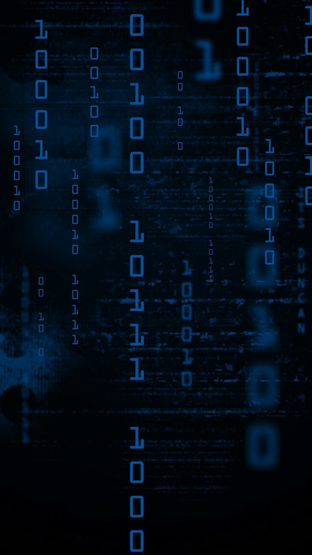 Blue cyber numbers wallpaper abstract and geometric - Number wallpaper ...