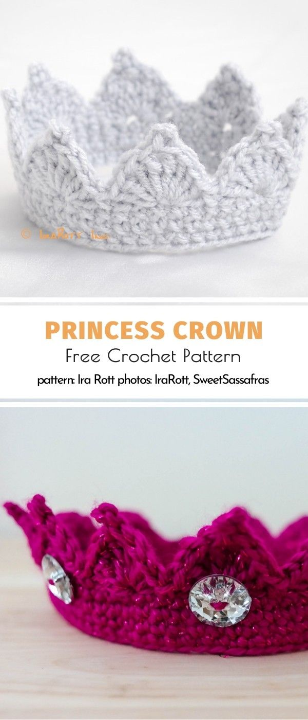 Photo of Princess Crown Free Crochet Pattern