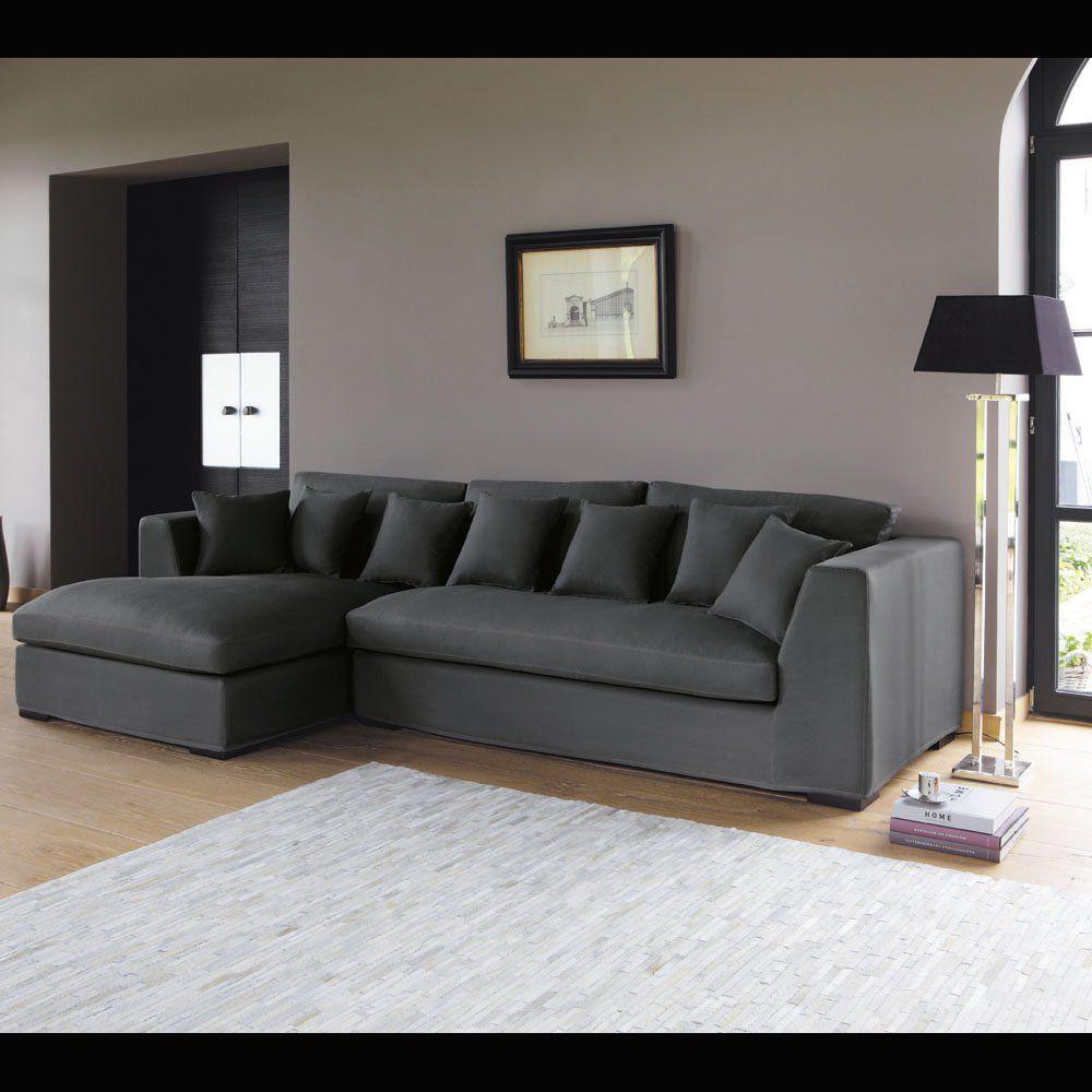 Corner sofa in Slate Grey, seats 5 Long Island | Living ...