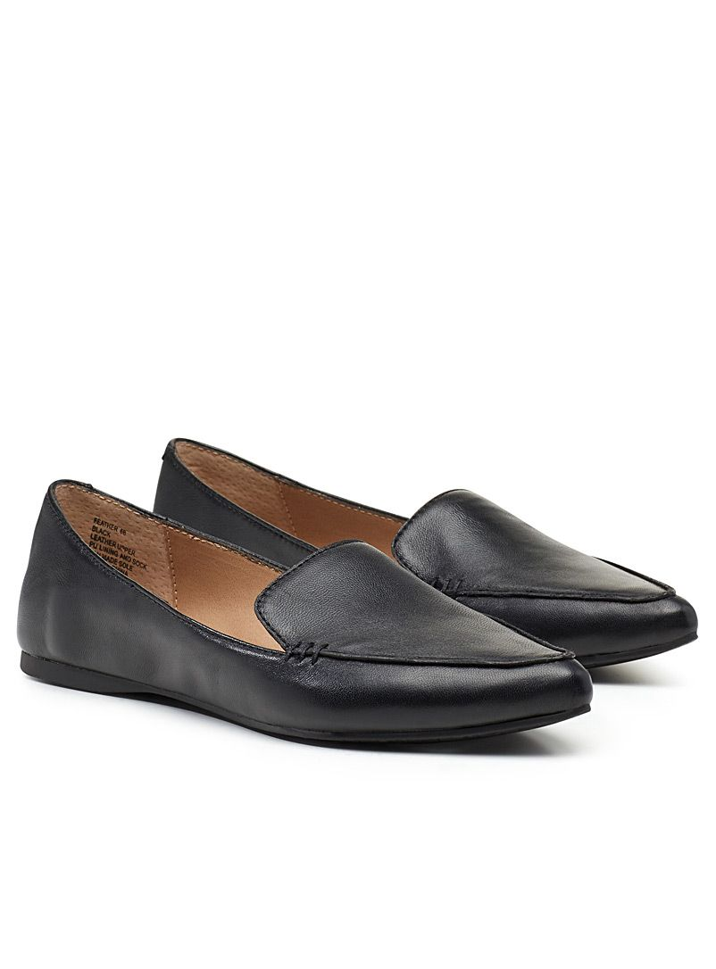 27a1c2956ee Feather loafers - Flats - Black