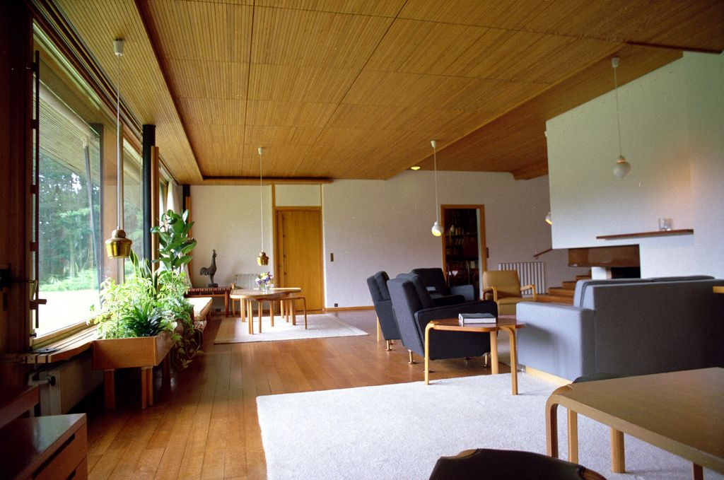 Maison Louis Carre Interior 11 Living Room Alvar Aalto Interior Living Room Designs